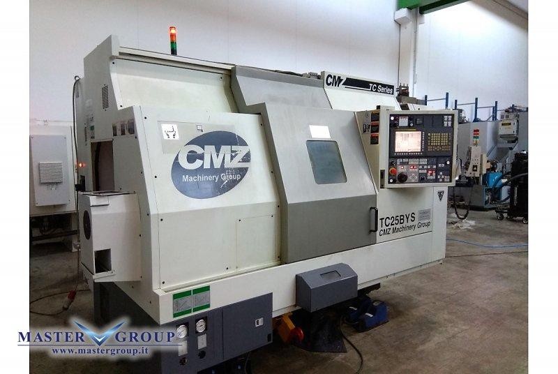 TORNIO CNC A 5 ASSI - USATO - CMZ - TC 25BYS