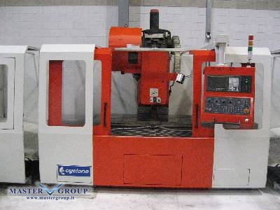 L & W MACHINE TOOLS - CYCLONE VMC-1800