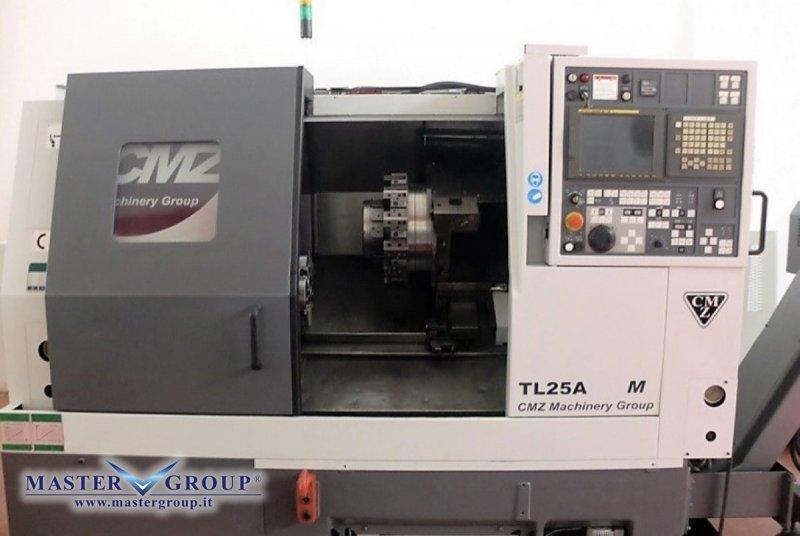 TORNIO CNC A 3 ASSI - USATO - CMZ - TL25 AM