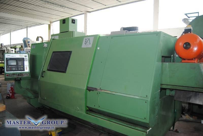 TORNIO CNC A 2 ASSI - USATO - OMG ZANOLETTI - CNC 220X1250