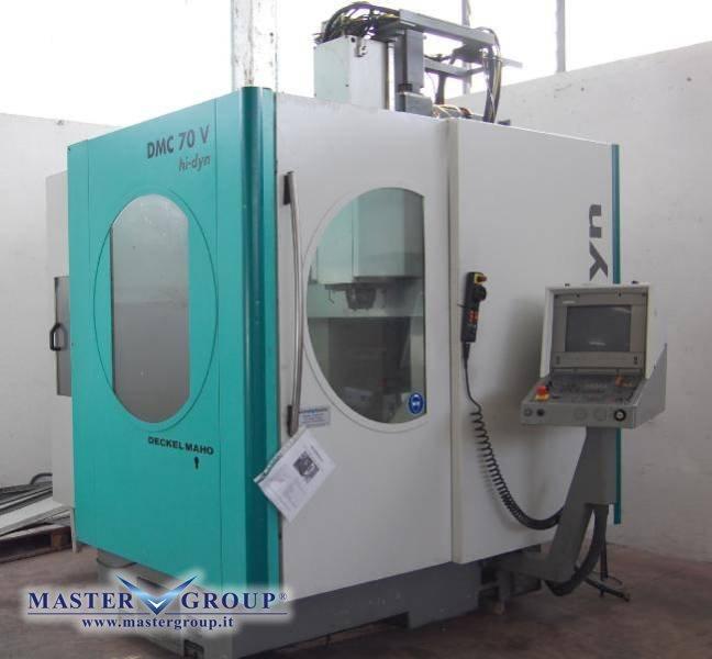 Scheda tecnica centri di lavoro verticali dmg deckel for Dmg deckel maho
