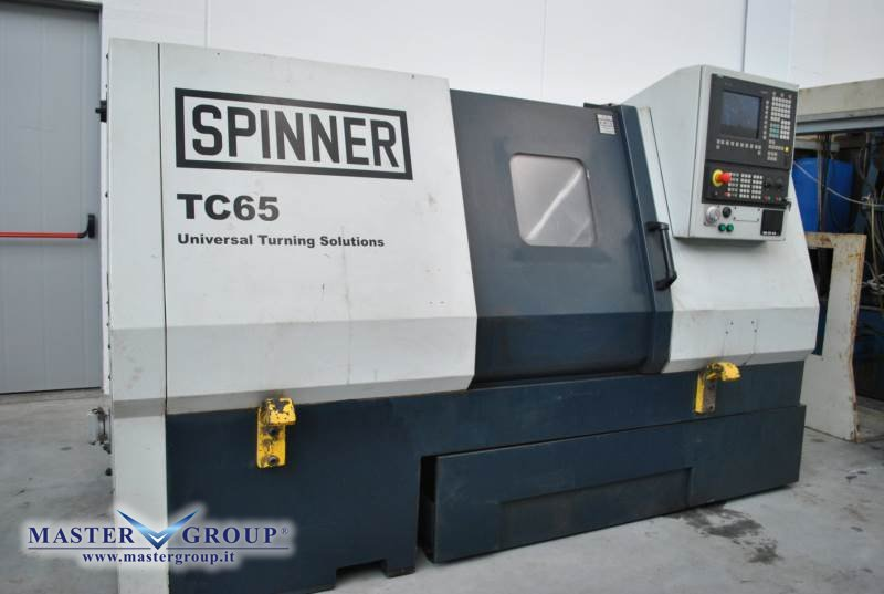 TORNIO CNC A 2 ASSI - USATO - SPINNER - TC 65