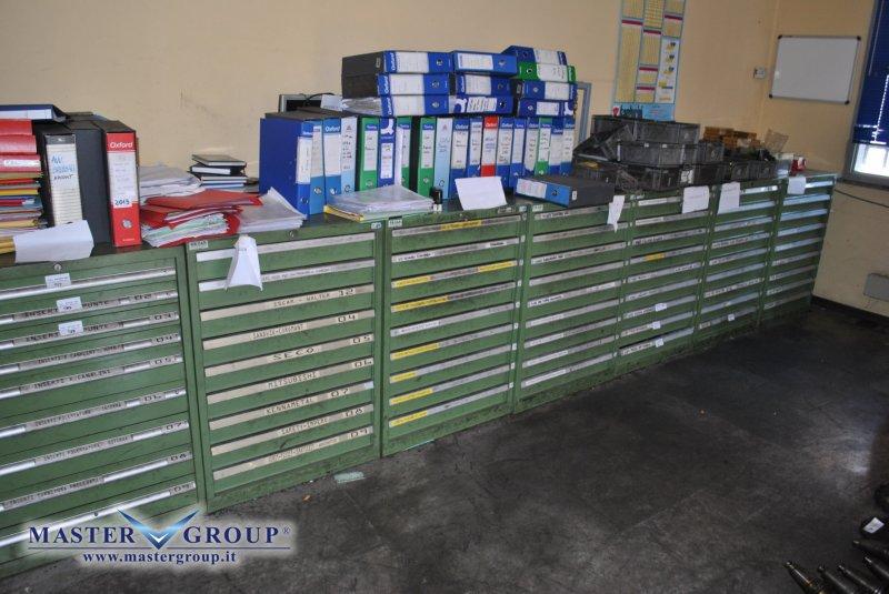 Cassettiere Industriali Usate.Master Group Srl Acquisto Vendita Noleggio E Assistenza